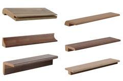 La conception intérieure sélectionnent l'échantillon de stratifié en bois de texture Samp photo stock