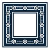 La conception sans couture antique de vintage modèle des tuiles dans l'illustration de vecteur Images libres de droits