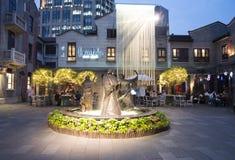 La concession de Français de Changhaï photos stock