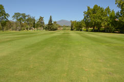 La Concha seen from golf course Stock Photography