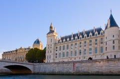 La Conciergerie,巴黎,法国 图库摄影