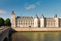 La Conciergerie,巴黎,法国 免版税库存照片