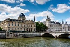 La Conciergerie, a Former Royal Palace and Prison in Paris Stock Image