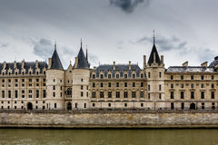 La Conciergerie, a Former Royal Palace and Prison in Paris Stock Photos