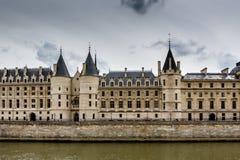 La Conciergerie, a Former Royal Palace and Prison in Paris Stock Photos