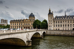 La Conciergerie, a Former Royal Palace and Prison in Paris Royalty Free Stock Photography