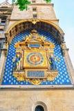 La Conciergerie Horloge Clock. Which are located on the building  Palais de Justice, Paris, France Royalty Free Stock Photos