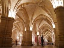 La Conciergerie - Maries Antoinettes gotiskt Paris fängelse Arkivbilder