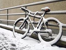 La conclusione della stagione della bici Fotografia Stock Libera da Diritti