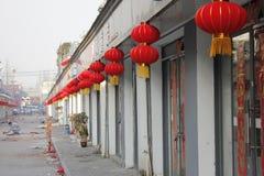 La concorrenza di vecchia via di qingshui nella città di wuhu Fotografie Stock Libere da Diritti