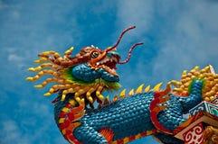 La condizione del drago Fotografie Stock