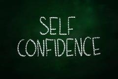 La confiance en soi Images stock