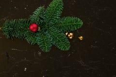 La configuration d'appartement de Noël a dénommé la scène Photos stock