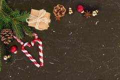La configuration d'appartement de Noël a dénommé la scène Photographie stock