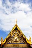 La configuration de l'église thaïe Photo stock