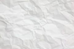 La configuration de papier chiffonnée de texture de fond Image libre de droits