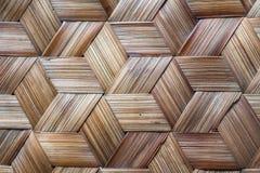 La configuration du bambou thaï de type handcraft photographie stock