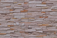 La configuration du mur de briques a apprêté Photos libres de droits