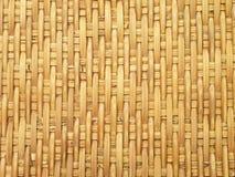La configuration et la conception du bambou thaï de type handcraft image stock