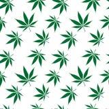 La configuration sans joint de cannabis a étendu illustration libre de droits