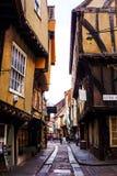 La confusión en York, Inglaterra Foto de archivo