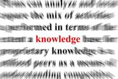 La connaissance Photos stock