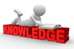 La connaissance Photo stock
