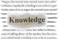 La connaissance Images libres de droits