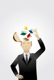 La connaissance d'affaires Photographie stock