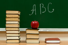la connaissance d'alphabet Image stock