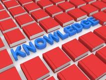 La connaissance dans les livres Images libres de droits