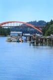 La Conner桥梁 图库摄影
