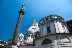 La Consolata de Santuario de basilique Image libre de droits
