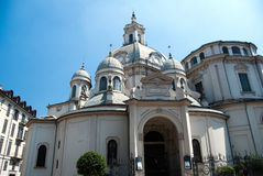 La Consolata de Santuario de basilique Photographie stock libre de droits
