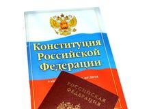 La constitution de la Russie images libres de droits