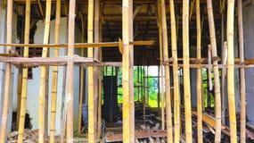 La construcción de la casa está procesando Foto de archivo libre de regalías