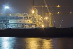 La construcción de los estadios para el mundial en 2018 Imagen de archivo