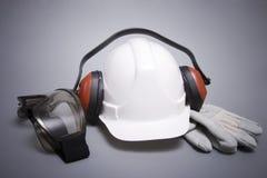 La construcción protectora significa Imagen de archivo