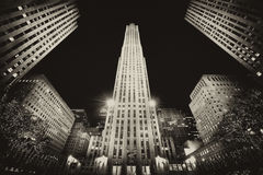 La construction à New York Images libres de droits