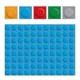 La construction abstraite bloque le fond, graphique de vecteur Image stock