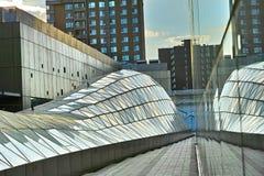 La construction au soleil réglée Image libre de droits