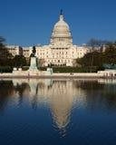 La construction de capitol dans le C.C Image libre de droits