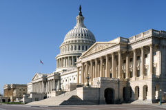 La construction de capitol des Etats-Unis photo libre de droits