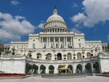 La construction de capitol des USA à Washington, C Images libres de droits