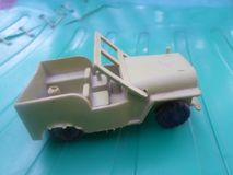La construction de jeep de l'armée américaine image libre de droits