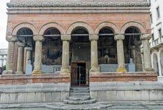 La construction de Kretzulescu d'église par Iordache Cretulescu en 1720-1722 Image libre de droits