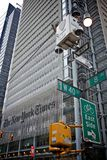 La construction de New York Times Photos stock