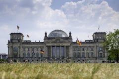 La construction de Reichstag à Berlin Images libres de droits