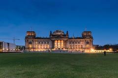 La construction de Reichstag à Berlin Photographie stock libre de droits