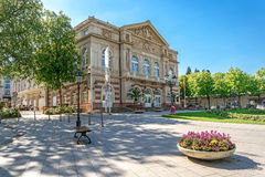 La construction de théâtre Baden-Baden l'allemagne Photographie stock